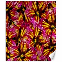 Floral Pattern Background Seamless Canvas 20  X 24   by Nexatart
