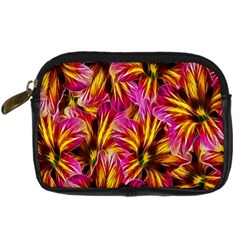 Floral Pattern Background Seamless Digital Camera Cases by Nexatart
