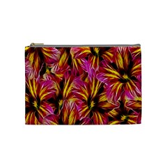 Floral Pattern Background Seamless Cosmetic Bag (medium)