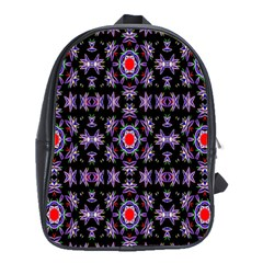 Digital Computer Graphic Seamless Wallpaper School Bags(large)  by Nexatart