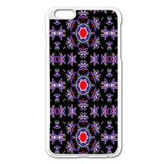 Digital Computer Graphic Seamless Wallpaper Apple Iphone 6 Plus/6s Plus Enamel White Case by Nexatart