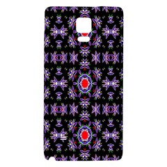 Digital Computer Graphic Seamless Wallpaper Galaxy Note 4 Back Case by Nexatart