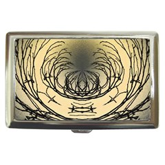 Atmospheric Black Branches Abstract Cigarette Money Cases by Nexatart
