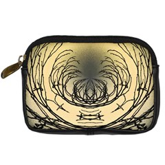 Atmospheric Black Branches Abstract Digital Camera Cases by Nexatart
