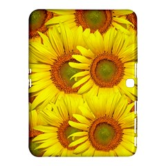 Sunflowers Background Wallpaper Pattern Samsung Galaxy Tab 4 (10 1 ) Hardshell Case