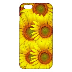 Sunflowers Background Wallpaper Pattern Iphone 6 Plus/6s Plus Tpu Case by Nexatart