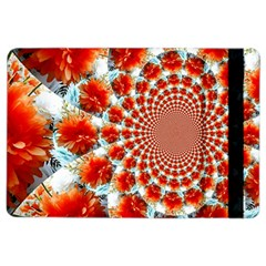 Stylish Background With Flowers Ipad Air 2 Flip by Nexatart
