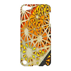 Abstract Starburst Background Wallpaper Of Metal Starburst Decoration With Orange And Yellow Back Apple Ipod Touch 5 Hardshell Case by Nexatart