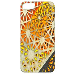 Abstract Starburst Background Wallpaper Of Metal Starburst Decoration With Orange And Yellow Back Apple Iphone 5 Classic Hardshell Case