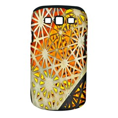 Abstract Starburst Background Wallpaper Of Metal Starburst Decoration With Orange And Yellow Back Samsung Galaxy S Iii Classic Hardshell Case (pc+silicone)