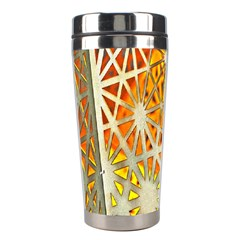 Abstract Starburst Background Wallpaper Of Metal Starburst Decoration With Orange And Yellow Back Stainless Steel Travel Tumblers