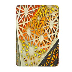Abstract Starburst Background Wallpaper Of Metal Starburst Decoration With Orange And Yellow Back Samsung Galaxy Tab 2 (10 1 ) P5100 Hardshell Case