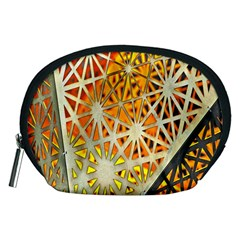 Abstract Starburst Background Wallpaper Of Metal Starburst Decoration With Orange And Yellow Back Accessory Pouches (medium)