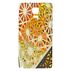 Abstract Starburst Background Wallpaper Of Metal Starburst Decoration With Orange And Yellow Back Galaxy Note 4 Back Case
