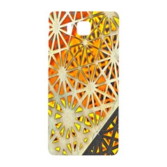 Abstract Starburst Background Wallpaper Of Metal Starburst Decoration With Orange And Yellow Back Samsung Galaxy Alpha Hardshell Back Case