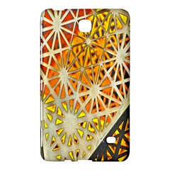 Abstract Starburst Background Wallpaper Of Metal Starburst Decoration With Orange And Yellow Back Samsung Galaxy Tab 4 (7 ) Hardshell Case
