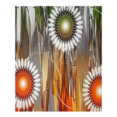 Floral Abstract Pattern Background Shower Curtain 60  X 72  (medium)
