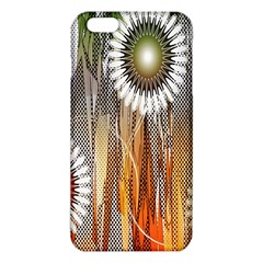Floral Abstract Pattern Background Iphone 6 Plus/6s Plus Tpu Case by Nexatart