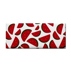 Fruit Watermelon Seamless Pattern Cosmetic Storage Cases by Nexatart