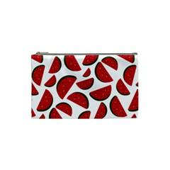 Fruit Watermelon Seamless Pattern Cosmetic Bag (small)