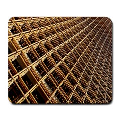 Construction Site Rusty Frames Making A Construction Site Abstract Large Mousepads by Nexatart