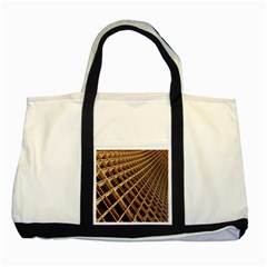 Construction Site Rusty Frames Making A Construction Site Abstract Two Tone Tote Bag by Nexatart