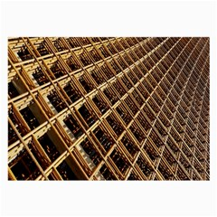 Construction Site Rusty Frames Making A Construction Site Abstract Large Glasses Cloth (2 Side) by Nexatart