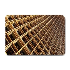 Construction Site Rusty Frames Making A Construction Site Abstract Small Doormat  by Nexatart