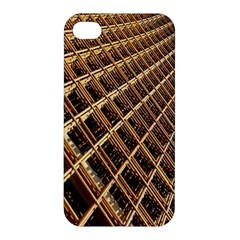 Construction Site Rusty Frames Making A Construction Site Abstract Apple Iphone 4/4s Premium Hardshell Case by Nexatart