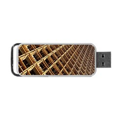 Construction Site Rusty Frames Making A Construction Site Abstract Portable Usb Flash (two Sides) by Nexatart