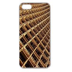 Construction Site Rusty Frames Making A Construction Site Abstract Apple Seamless Iphone 5 Case (clear) by Nexatart