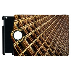 Construction Site Rusty Frames Making A Construction Site Abstract Apple Ipad 2 Flip 360 Case by Nexatart
