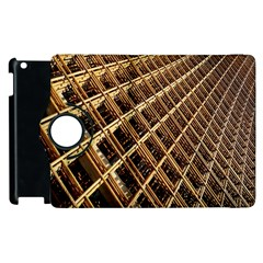 Construction Site Rusty Frames Making A Construction Site Abstract Apple Ipad 3/4 Flip 360 Case by Nexatart