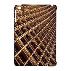 Construction Site Rusty Frames Making A Construction Site Abstract Apple Ipad Mini Hardshell Case (compatible With Smart Cover) by Nexatart