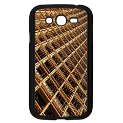 Construction Site Rusty Frames Making A Construction Site Abstract Samsung Galaxy Grand Duos I9082 Case (black)