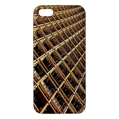 Construction Site Rusty Frames Making A Construction Site Abstract Iphone 5s/ Se Premium Hardshell Case by Nexatart