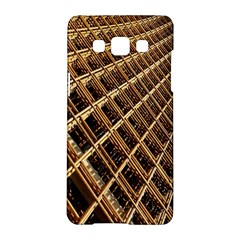 Construction Site Rusty Frames Making A Construction Site Abstract Samsung Galaxy A5 Hardshell Case  by Nexatart