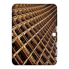 Construction Site Rusty Frames Making A Construction Site Abstract Samsung Galaxy Tab 4 (10 1 ) Hardshell Case  by Nexatart