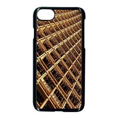 Construction Site Rusty Frames Making A Construction Site Abstract Apple Iphone 7 Seamless Case (black) by Nexatart