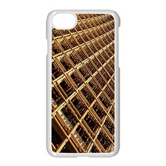 Construction Site Rusty Frames Making A Construction Site Abstract Apple Iphone 7 Seamless Case (white) by Nexatart