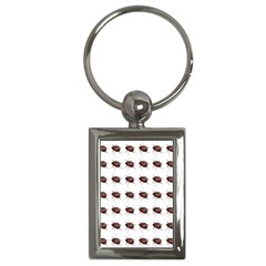 Insect Pattern Key Chains (rectangle)  by Nexatart