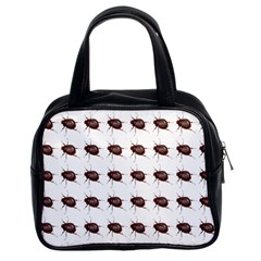 Insect Pattern Classic Handbags (2 Sides) by Nexatart