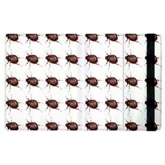 Insect Pattern Apple Ipad 2 Flip Case by Nexatart