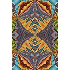 Kaleidoscopic Pattern Colorful Kaleidoscopic Pattern With Fabric Texture 5 5  X 8 5  Notebooks by Nexatart