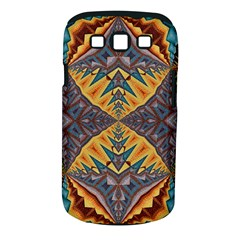 Kaleidoscopic Pattern Colorful Kaleidoscopic Pattern With Fabric Texture Samsung Galaxy S Iii Classic Hardshell Case (pc+silicone)