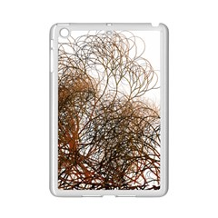 Digitally Painted Colourful Winter Branches Illustration Ipad Mini 2 Enamel Coated Cases