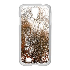 Digitally Painted Colourful Winter Branches Illustration Samsung Galaxy S4 I9500/ I9505 Case (white)