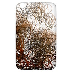 Digitally Painted Colourful Winter Branches Illustration Samsung Galaxy Tab 3 (8 ) T3100 Hardshell Case