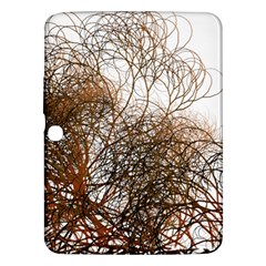 Digitally Painted Colourful Winter Branches Illustration Samsung Galaxy Tab 3 (10 1 ) P5200 Hardshell Case