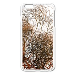 Digitally Painted Colourful Winter Branches Illustration Apple Iphone 6 Plus/6s Plus Enamel White Case by Nexatart